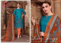 Cotton Nafisa Sehnaz Karachi Queen Dress Material