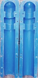 Cylindrical Bollard FRP Mould