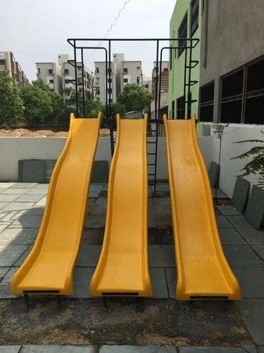 Plastic Playground Slide, प्लेग्राउंड स्लाइड in Kanathur ...
