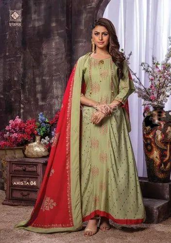 Kiana Fashion Ahista Suit
