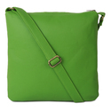 Hip Auto Rickshaw Canvas And Faux Leather Sling Bag