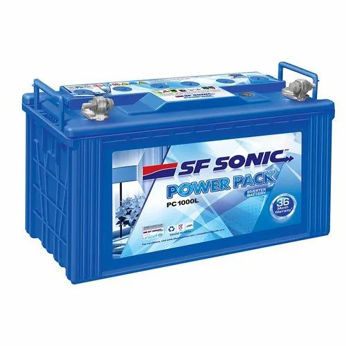 100 Ah Sf- Sonic SF Sonic E-Rickshaw Battery, Model No.: Pc1000l