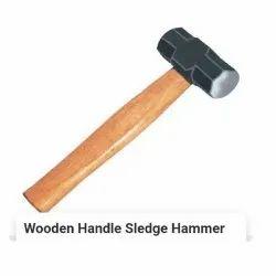 Wooden hand sledge hammer