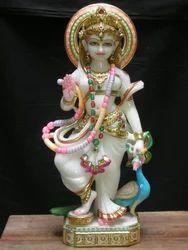 Marble Radhika Statue