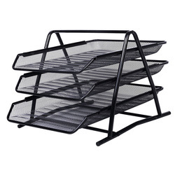 MS Wire mesh Black Document Tray