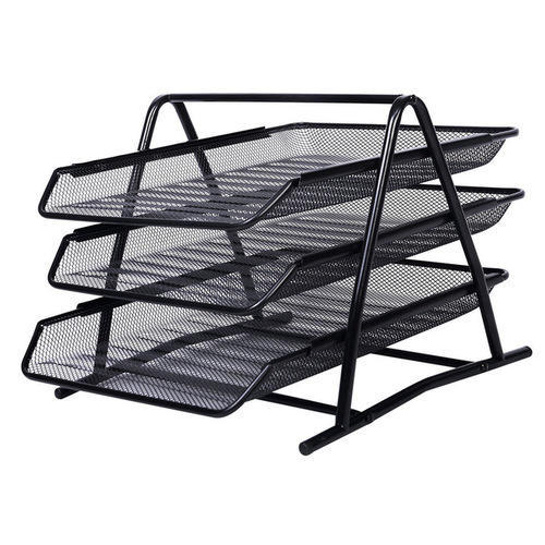 Black Office Paper Rack
