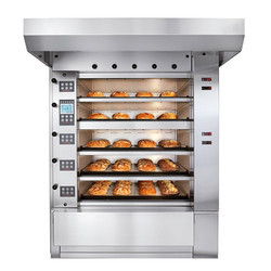 Stainless Steel Baking Convection Oven, Capacity: 56 Bread Of 400gm Per Batch, 10 kW/h