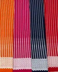 Schiffli Embroidered Cotton Fabric