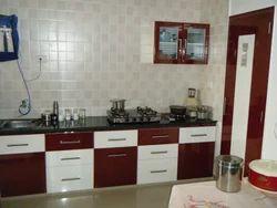 2.5 Feet PVC Modular Kitchen