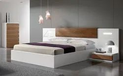 Radhika furnitures White Wooden Double Bed, For Home, Size: 6*6
