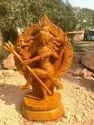 Odisha Craft Red Stone Statue