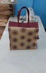 Flower Jute Bag