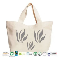 Grs Recycle Cotton Canvas Beach Bag