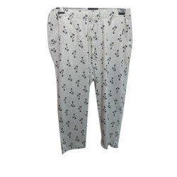 Cotton Printed Ladies Pyjama, Size: S, M & L