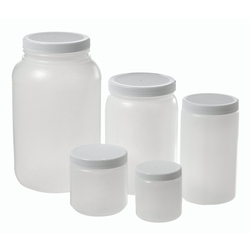 Wide Mouth Plastic Jars