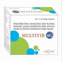 Ginkgo Biloba Extract, Ginseng Extract, Green Tea Extract, Astaxanthin, Lycopene & Benfothiamine