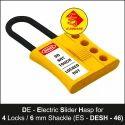 De - Electric Slider Lockout Hasp 4 Lock
