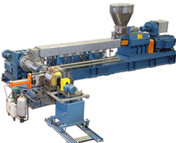 HPMC Co Rotating Twin Screw for Cable Grade PVC Compounding Plant