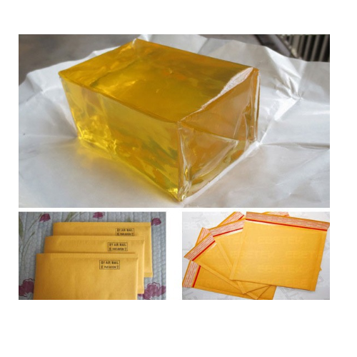 Texyear Yellow Hot Melt Adhesive For Courier Bags Id