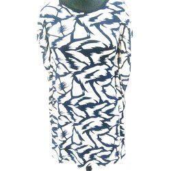 Ladies Cotton Printed Top, Size: S, M & L