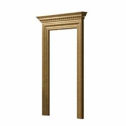 Rectangular Brown WPC Door Frame