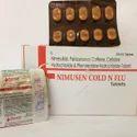 Nimesulide 100mg  Paracetamol 325mg Caffeine 25mg Cetir