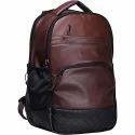 Taurus Enterprises Leather Shoulder Backpack