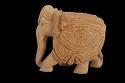 Wooden Carved Elephant Big