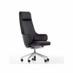Black Maruthi Enterprises High Back Chair