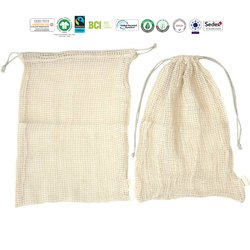 Eco Cotton Pouch Bag