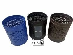 Color Coated M.S. Open Lid Dustbins for Office/Home Use.