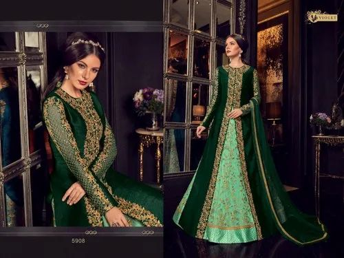733751d42854 New Latest Designer Party Wear Indo Western Dress at Rs 2550 /piece ...