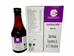 Syrup HERBALRATNA CARE Diarrhoea, Dysentery & G.I.T. Infection, Packaging Size: 200ML, Minimum Order Value: 50 Pc