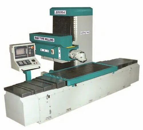 SIGMA CNC Ram Type Milling Machine With Universal Milling