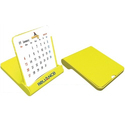 Yellow Table Calendar