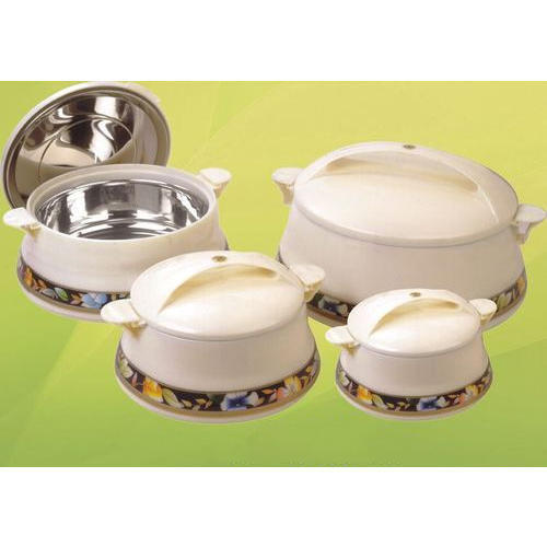 Plastic Tofel Hot Pot 4 Piece Casserole Set