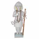 White Marble Jalaram Statue