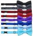 Navy Blue Silk Polka Dots Tie