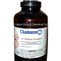 O-Tolidine Reagent, Packaging Type: Glass Bottle, Packaging Size: 500 Ml