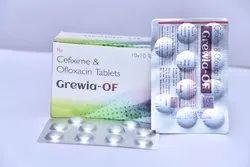 Cefixime 200mg,Ofloxacin 200mg