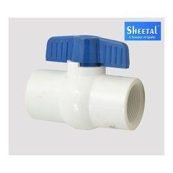Short Handle Plastic Ball Valves
