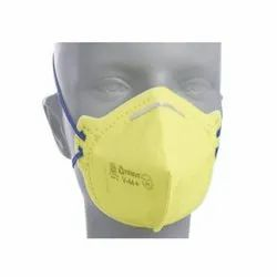 Non-Woven Yellow Venus Nose Mask For Traffic Police, Model Name/Number: V-44