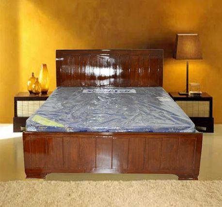 Queen Size Teak Wood Bed Av03 At Rs 43500 Set क व न स इज