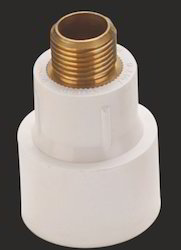 UPVC Brass MTA, Size: 1 Inch And 2 Inch