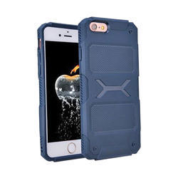 Blue Thermoplastic Polyurethane Lightweight Back Case Cove, Apple iPhone 6S
