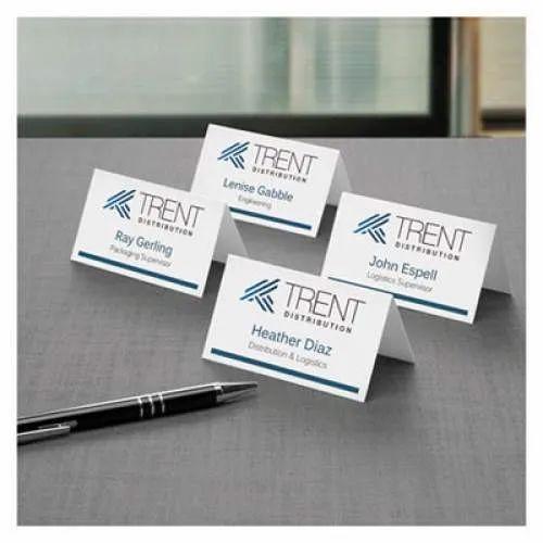 Cardboard Tent Card Printing Service