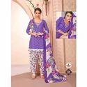 Printed Patiyala Dress Materials