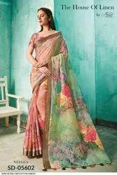 Linen Cotton Sarees