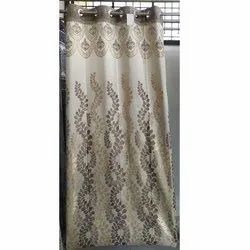 Printed Silk Curtain