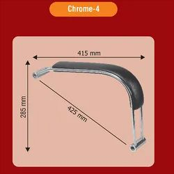 Chrome 4 Classic Chair Handle